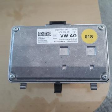 Kamera przednia Audi, VW, Skoda, Seat. 3Q0980654F