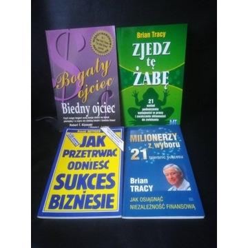 Motywacja w biznesie - 4 książki