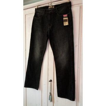 Okazja!!! Jeans WRANGLER slim straight 38 x 32