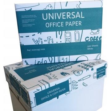 Papier ksero biały do drukarki A4 80g ryza 500 ark