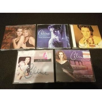5 x CD CELINE DION Pop Single Only One Road