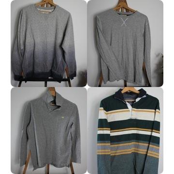 Paczka męskich bluz i swetrów S-XL