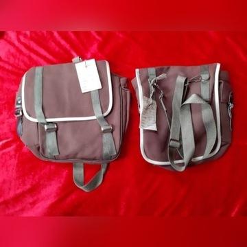 Plecak plecaki sakwa torebka z epoki PRL ZHP nowe