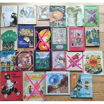 Zestaw książek dla dzieci - od 2 do 12 lat