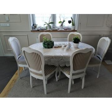 Stylowy Stół z Krzesłami