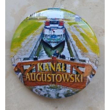 Odznaka Kanał Augustowski Augustów Pojezierze