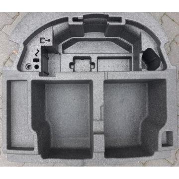 Wkład styropianowy wypełnienie bagażnika kołoZapas