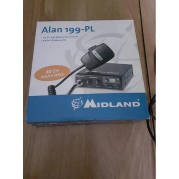 CB Radio Midland Alan 199-PL Gruszka + Antena