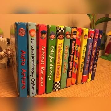 Książeczki książki stan bdb seria mały chłopiec