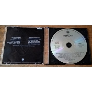 Metallica  BLACK CD