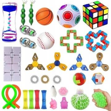 32 Pcs Fidget Cube zestaw Antystresowe zabawki