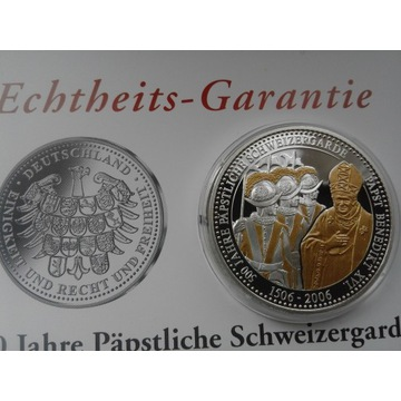 moneta Watykan papież Benedykt