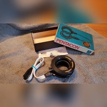 Pentacon, Praktica pierścienie electric z kablem