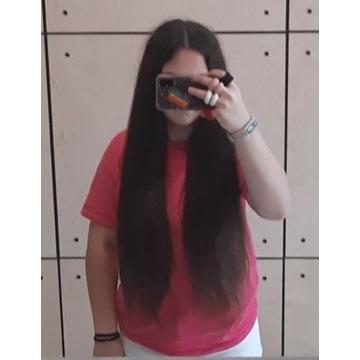 włosy ludzkie naturalne
