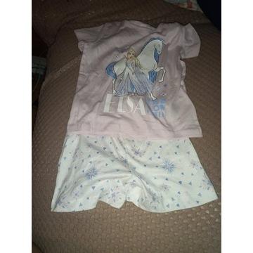piżamka z krainy lodu dla dziewczynki