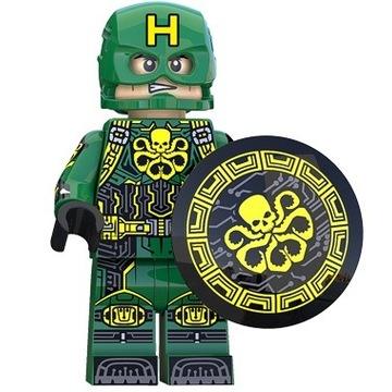 Lego Kapitan Ameryka Agent Hydra Figurka Avengers
