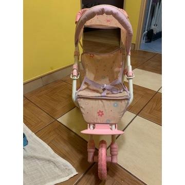 Wózeczek wózek dla lalek lalki spacerówka metalowy