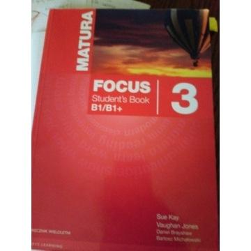 Focus 3 Matura z płytą CD