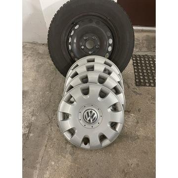 "Oryginalne komplet 4 sztkołpaki VW 15"""