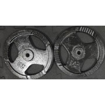Obciążenie Żeliwne Typu Kierownica 20kg x 2