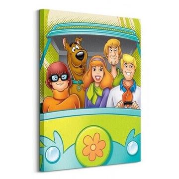 Scooby Doo obraz na płótnie 60 x 80 cm