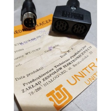 Pośrednik złącze WM590 / 2xNM590 UNITRA