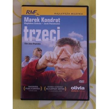 """DVD """"Trzeci"""" Marek Konrad, Magdalena Cielecka"""