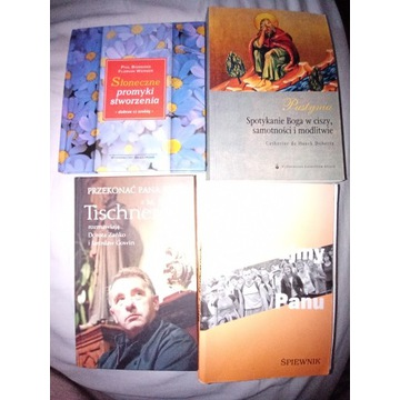 Książki religijne.