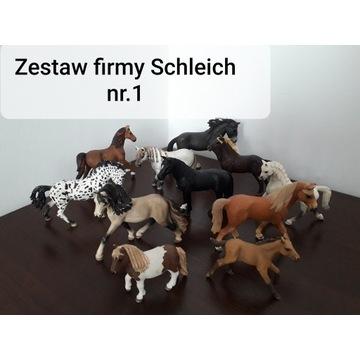 Zestawy firmy Schleich !stan bardzo dobry!!