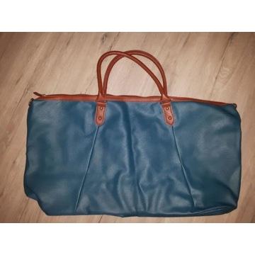 Torebka XL ogromna duża pojemna torba morska nowa!
