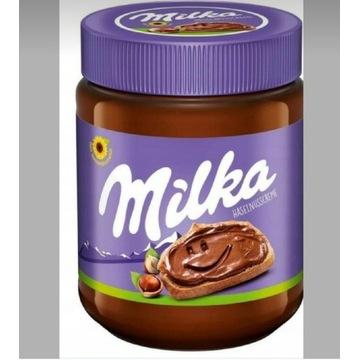 Milka orzechowo czekoladowe maslo 350g Niemiecki