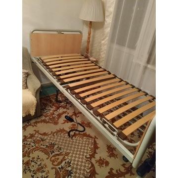 Łóżko rehabilitacyjne + materac przeciwodleżynowy