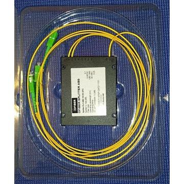 Splitter PLC 1:2 obudowa ABS -SC/APC, 2.0mm, 1m
