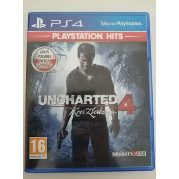 Uncharted 4 PS HITS Dubbing PL
