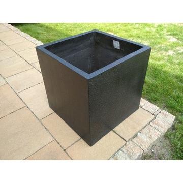 Donica betonowa duża czarna