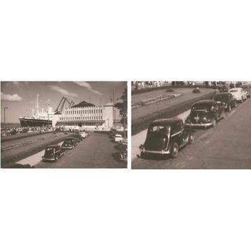 GDYNIA -- DWORZEC MORSKI - AUTA - BATORY -- 1961