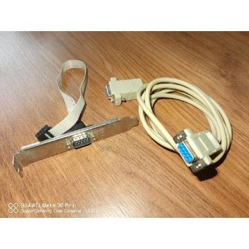 Port Com na śledziu + kabel