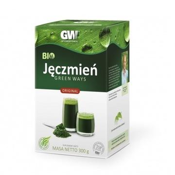 Sok z młodej trawy jęczmiennej-300g EKO Green Ways
