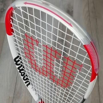 WILSON rakieta do squash'a z pokrowcem. Jak nowe.