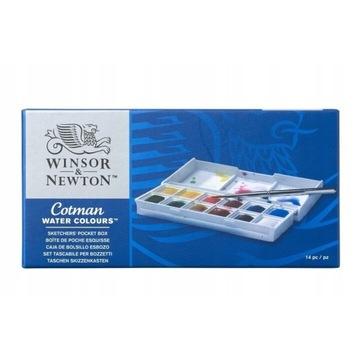 Farby akwarelowe Winsor & Newton - Nowe