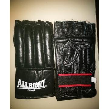 Rękawice MMA ALRIGHT XXL + BANDAŻE 3 szt