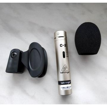 Mikrofon pojemnościowy BEHRINGER C-2