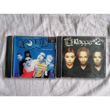 Płyty CD aqua klappa die 2