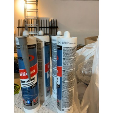4x Silikon Sapro kolor beton