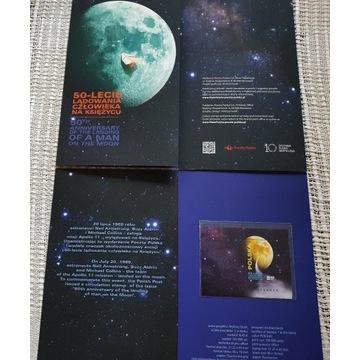 Folder 50 Lecie Lądowania na Księżycu