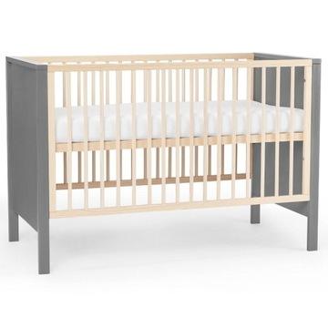 Łóżeczko drewniane niemowlęce Mia Kinderkraft