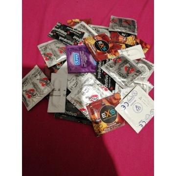 Prezerwatywy różne 30szt
