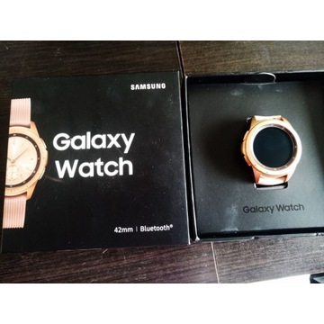 Samsung Galaxy Watch SM-R810 42mm Różowe złoto