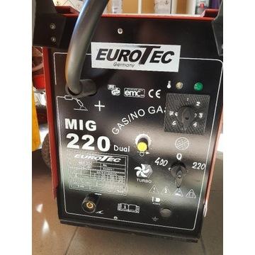 Migomat Spawarka EUROTEC 220 DUAL MIG