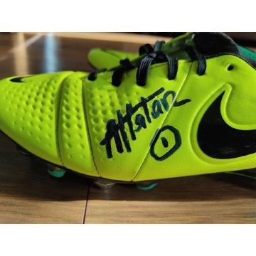 Buty piłkarskie z autografem Arkadiusz Malarz CWKS